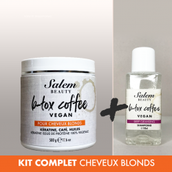 Kit complet B-tox Coffee...